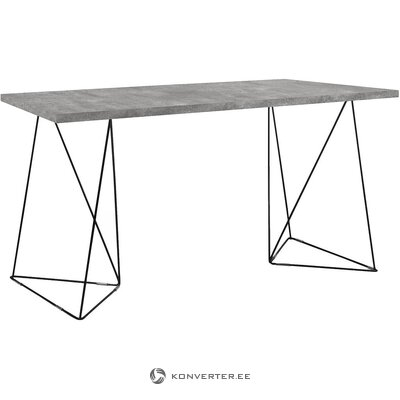Black-gray desk (temahome)