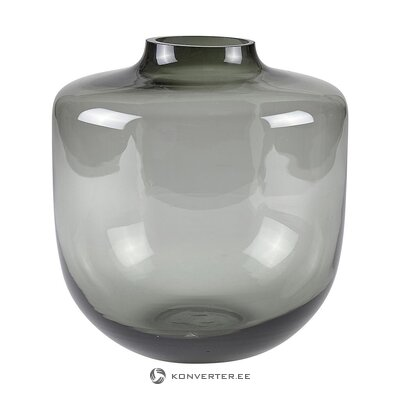 Gray transparent flower vase (wool collection) (whole, in a box)