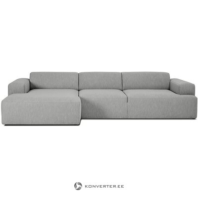 Gray corner sofa (marshmallow) (whole, in box)