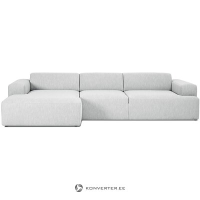 Light gray large corner sofa (ecksofa)