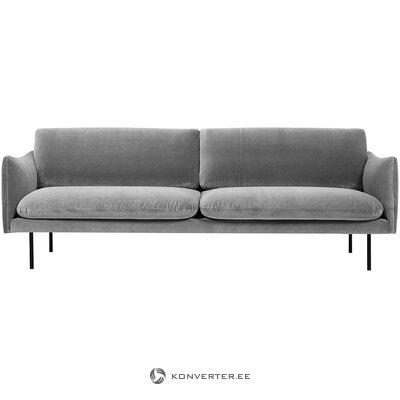 Salės aksominė sofa (moby)