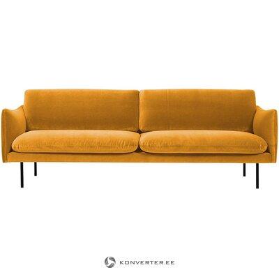 Dizaino aksominė sofa (moby)
