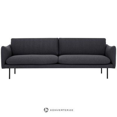 Dark gray sofa (moby)