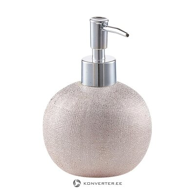 Silver gray soap dispenser (celery)