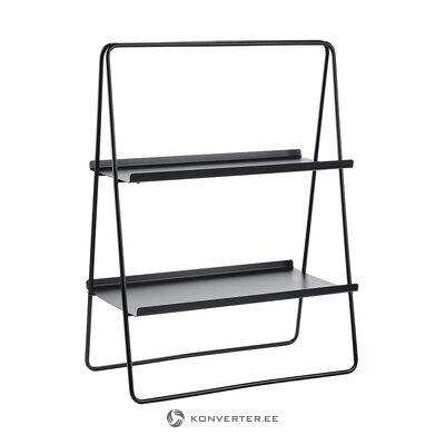 Black small ladder shelf (zone)