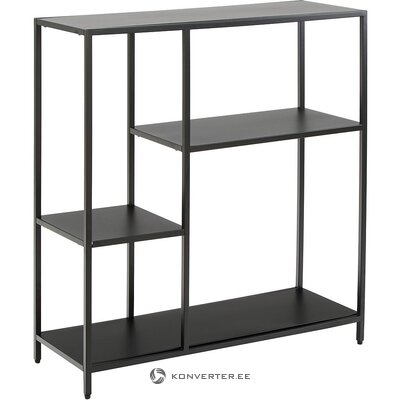 Black metal shelf (actona) (in box, whole)
