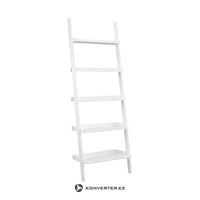 Baltos kopėčių lentynos (actona) (dėžutėje, visos)