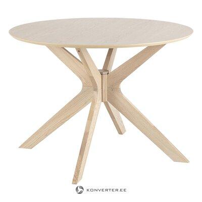 Pyöreä ruokapöytä Duncan (Actona) (kauneusvirheillä salinäyte)