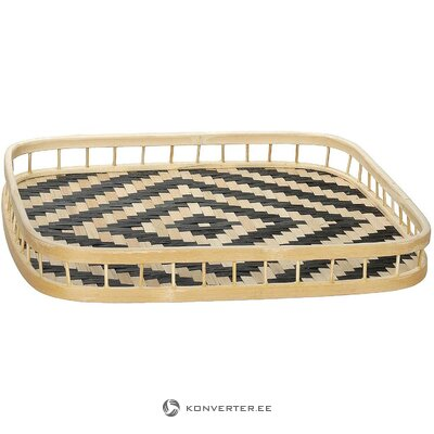 Bamboo tray (andrea house) (hall sample, whole)
