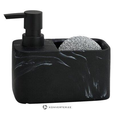 Дозатор черного мыла (andrea house) (целиком, в коробке)