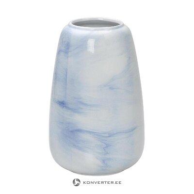 Голубая ваза для цветов (andrea house) (целиком, в коробке)
