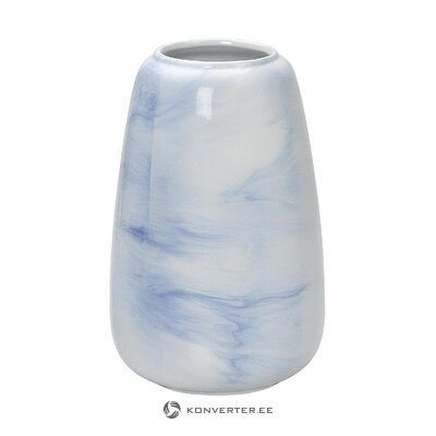 Light blue flower vase (andrea house) (whole, hall sample)