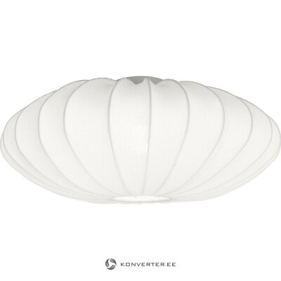 White ceiling lamp (aneta) (whole, in box)