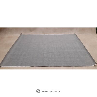Gray-black indoor and outdoor carpet subway (benuta) (boxed, whole)