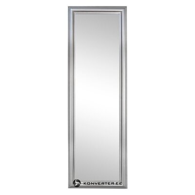 Серебряное настенное зеркало sanzio (bizzotto) san (с косметическими дефектами., Холл образец)