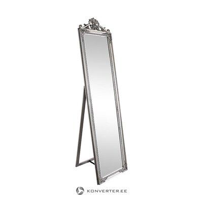 Silver floor mirror (bizzotto) (whole, in box)
