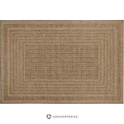 Beige-ruskea matto (bougari) (laatikossa, koko)