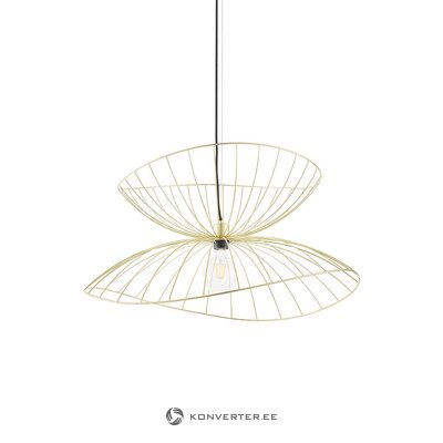 Golden-black design pendant luminaire (globen lighting) (whole)