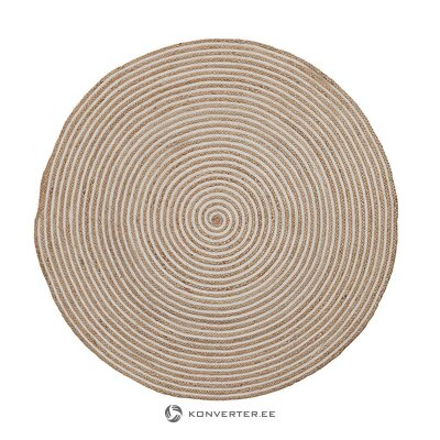 Round carpet (la shape) (whole, in a box)
