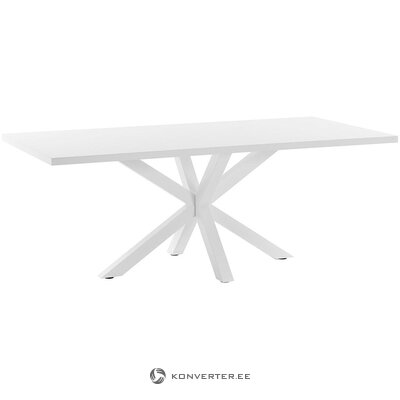 White dining table (la forma)