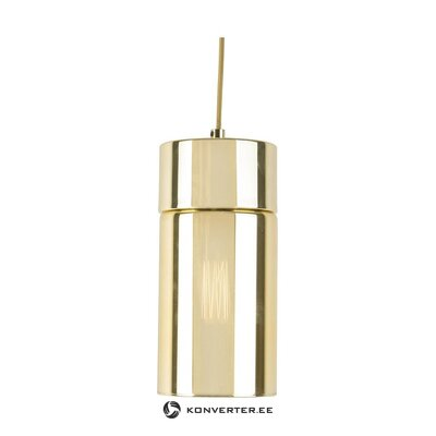 Golden pendant light (leitmotiv) (whole, in box)