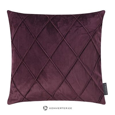 Decorative velvet pillowcase (magma) (whole, in a box)
