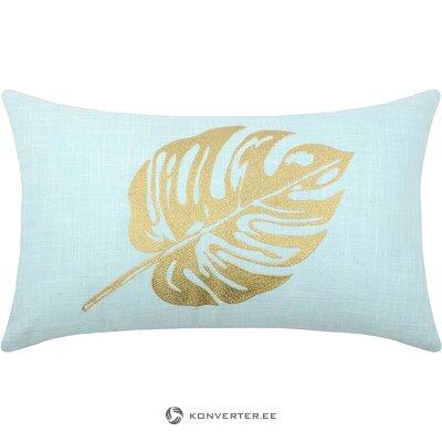 Light blue-gold pillow (stof)