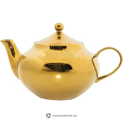 Golden teapot (urban nature) (whole, in a box)