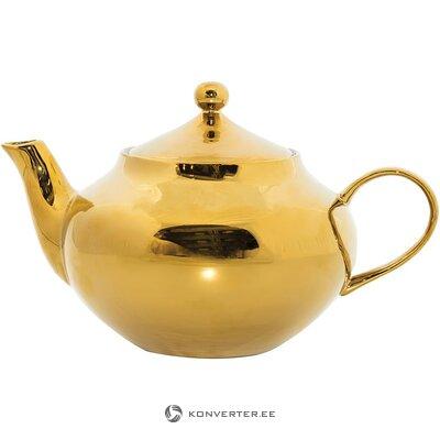 Auksinis arbatinukas (miesto pobūdžio) (sveikas, dėžutėje)