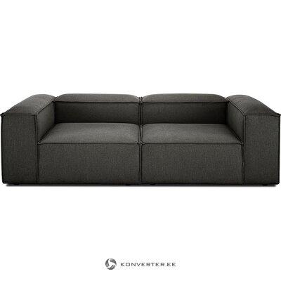 Tamsiai pilka kampinė sofa (skrydis) (nepažeista, dėžutėje)