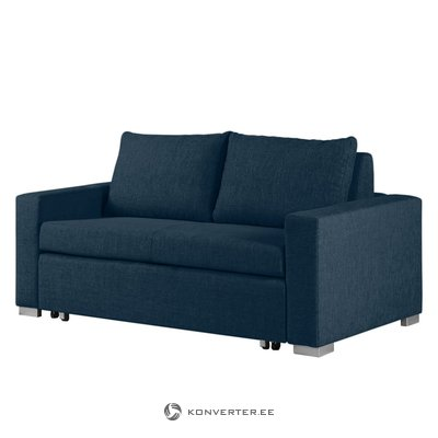 Dark blue sofa bed (latina) (whole, sample of halls)