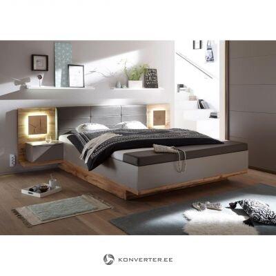 Ąžuolo rudos 3 dalių lovos rinkinys (lentia)