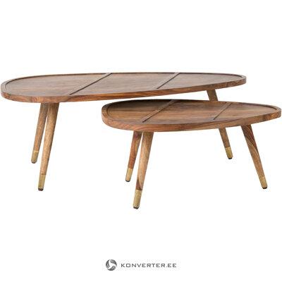 Dīvāna galda komplekts fiktīvs (dutchbone) (viss zāles paraugs)