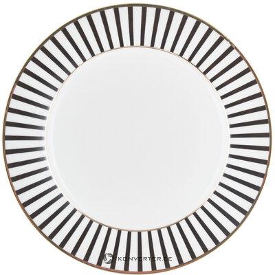 Набор тарелок 4 шт. Плутон (голландская роза)