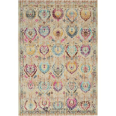 Multicolored carpet kashan (nourison) (whole, in a box)
