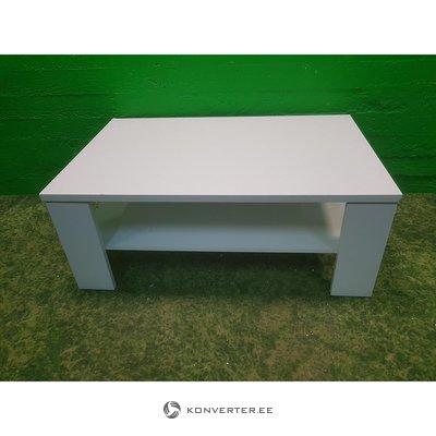 Balta kavos staliukas