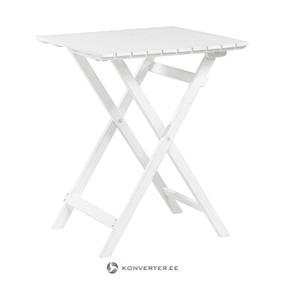 White garden table lena (hillerstorp)