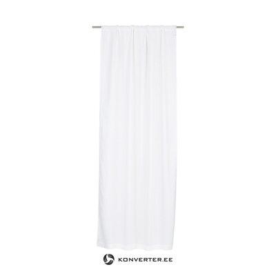 White curtain sunshine