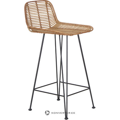 Rattan bar stool blind (hkliving) (hall sample, whole)