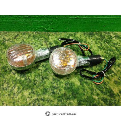 Larger turn signals for the motorcycle, 2pcs included