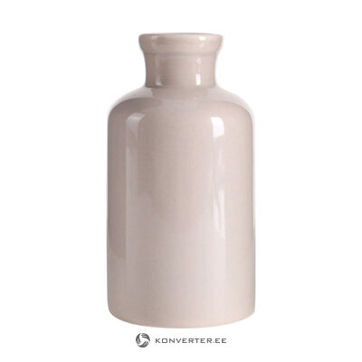 Beige flower vase bondi (interstil interior) (whole, hall sample)