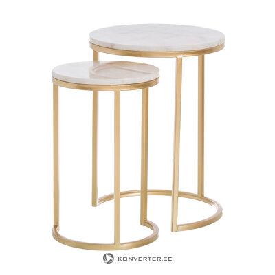 Kafijas galdiņu komplekts ar zelta rāmi latta (ixia) (kastē, vesels)