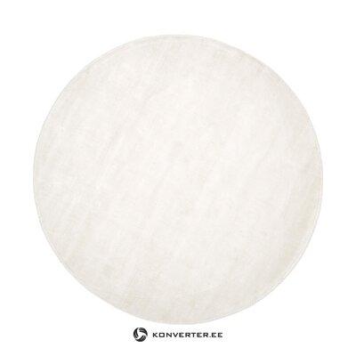 Pyöreä vaalea matto (Jane)
