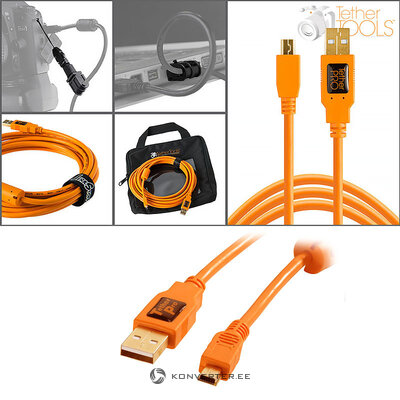 Starter tethering kit with usb 2.0 mini-b cable 4.6m