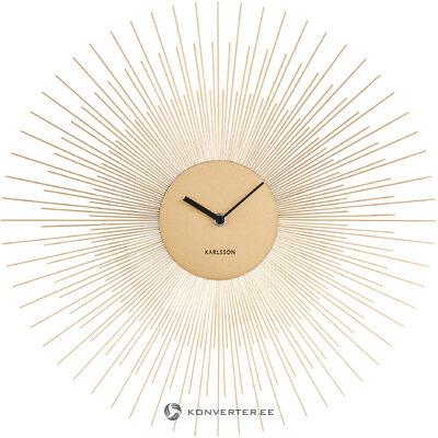 Дизайнерские настенные часы пион (karlsson)
