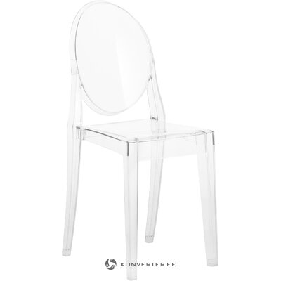 Transparent chair ghost (cartel) (hall sample)