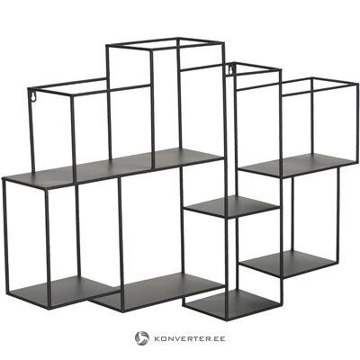 Black wall shelf (kersten) (hall sample, whole)