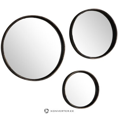 Wall mirror set 3-part (gallery direct)