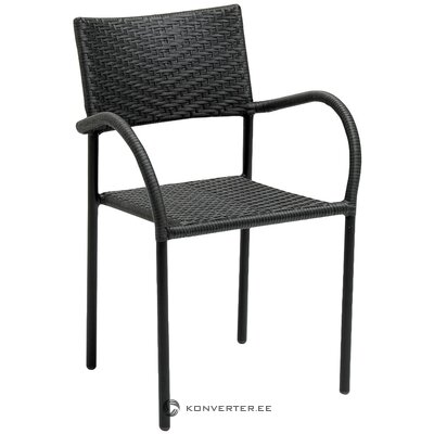 Black garden chair (loke)