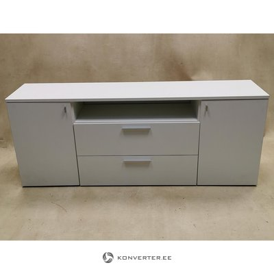 White chest of drawers / TV cabinet (with beauty defects)